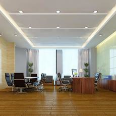 Office space 005 3D Model