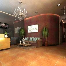 Office space 008 3D Model