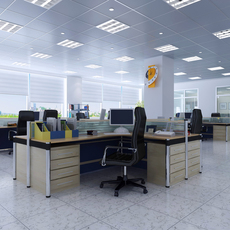 Office space 010 3D Model