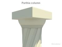 Parthia column 3D Model