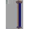 03 02 27 991 roman square column m 4