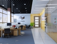 Office space 012 3D Model