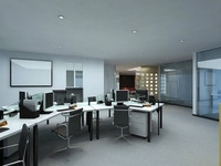 Office space 013 3D Model