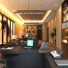 Office space 015 3D Model