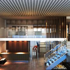 Office space 017 3D Model