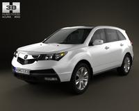 Acura MDX 2011 3D Model