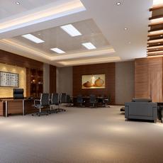 Office space 023 3D Model
