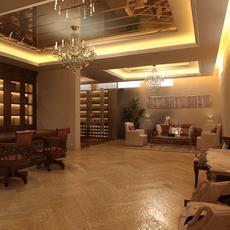 Office space 033 3D Model
