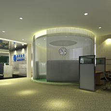 Office space 041 3D Model
