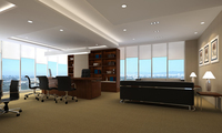 Office space 043 3D Model