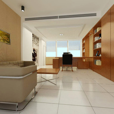 Office space 051 3D Model