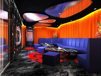Bar space 038 3D Model