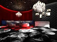 Bar space 039 3D Model