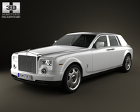 Rolls-Royce Phantom 2011 3D Model