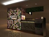 Bar space 053 3D Model