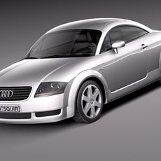 Audi TT coupe 1998-2005 3D Model