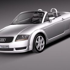 Audi TT roadster 1999-2005 3D Model