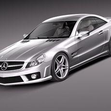 Mercedes SL65 AMG 2010 3D Model