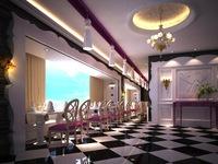 Restaurant Space 059 3D Model