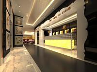 Restaurant Space 060 3D Model