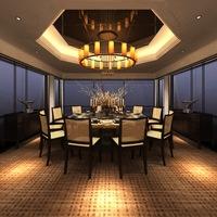 Restaurant Space 063 3D Model