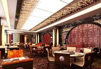 Restaurant Space 066 3D Model