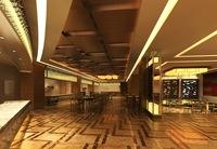 Restaurant Space 067 3D Model