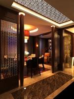 Restaurant Space 069 3D Model