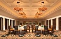 Restaurant Space 073 3D Model