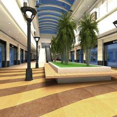 Urban Space 01 3D Model