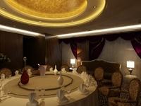 Restaurant Space 080 3D Model