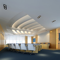 Conference Spaces 017 3D Model
