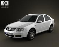 Volkswagen Bora Classic 3D Model