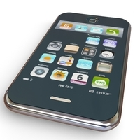 Apple iPhone 3G 3D Model