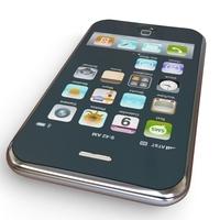 Apple iPhone 3G 3D Model