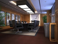 Conference Spaces 030 3D Model