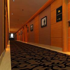 Corridor spaces 011 3D Model