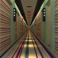 Corridor spaces 015 3D Model