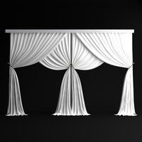 Classical Curtains - 3 3D Model