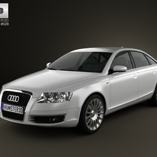 Audi A6 Saloon 2005 3D Model