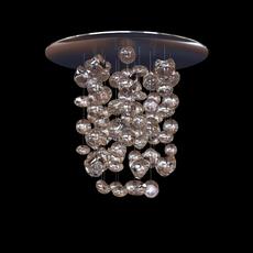 MuranoDue Hanging Light Fixture 3D Model