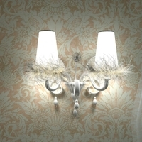 Carlesso Blanche Sconce Light 3D Model