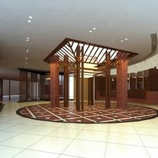 Aisle Spaces 001 3D Model
