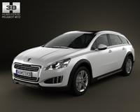 Peugeot 508 RXH 2013 3D Model