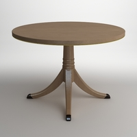 Elegant Classical Style Table 3D Model