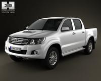 Toyota Hliux DoubleCab 2012 3D Model