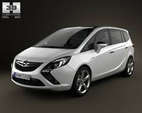 Opel Zafira Tourer 2012 3D Model