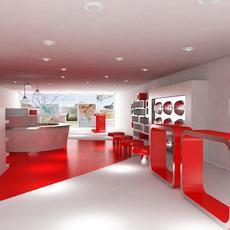 Store Interior 9 3D Model