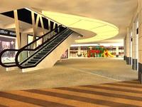 Urban Space 03 3D Model