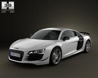 Audi R8 GT 2011 3D Model